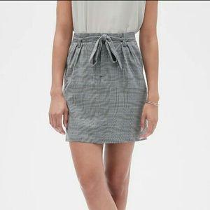Banana Republic plaid short skirt